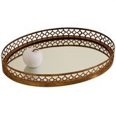 Asher Oval Iron / Mirror Tray