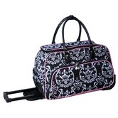 "Damask 20"" Carry All Duffel"