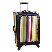 "Multi Stripes 24"" Spinner Suitcase"