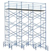 20' H x 21' W Exterior Scaffold Tower