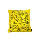 Yoga Girl Feather Filled Pillow