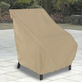 High Back Patio Chair Cover in Sand