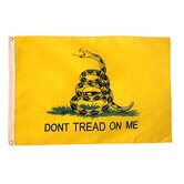 Gadsden Don't Tread On Me Traditional Flag