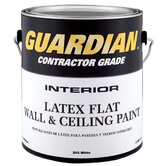 1 Gallon Flat White Contractor Grade Interior Latex Wall & Ceiling