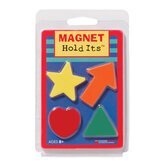 4 Assorted Ceramic Magnet Shapes