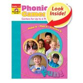 Phonics Games Centers Level C For