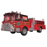 1:32 Mack Fire Pumper Truck Plastic Model Kit
