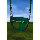 Half Bucket Swing in Green