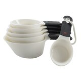 Measuring Cups , Set of 6 in White