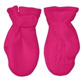 Winter Wear Fleece Mitten in Hot Pink