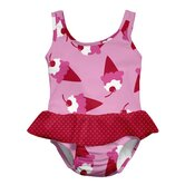 Light Pink Ice Cream Ultimate Swim Diaper Skirty Tanksuit