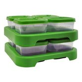 Sprouts Polypropylene Baby Food Storage Cube (Set of 8)