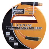 "1/4"" Diameter 100' Braided Polyurethane Air Hose"