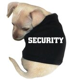 Security Dog Tank in Black