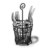 Scroll Silverware Caddy
