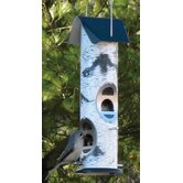 Woodland Series Bird Feeder in White