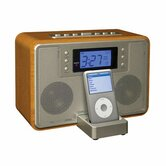 Tempo IPod Docking Station in Oak