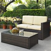Palm Harbor 2 Piece Seating Group with Cushions