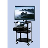 TV Cart  with Storage Cabinet for up to 32&quot; Flat Panel TVs