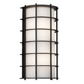 Hollywood Hills Outdoor Wall Fixture in Deep Bronze - Energy Smart