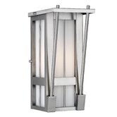 Banff Outdoor Wall Lantern in Antique Silver