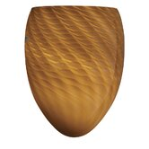 Madison Wall Sconce Shade in Marta Toffee Glass