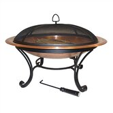 "40"" Round Copper Fire Pit"