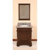 "28"" Single Bathroom Vanity Set in Antique Dark Espresso"