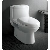Dorado One-Piece Dual Flush Toilet with Soft Close Seat