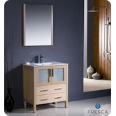 "Torino 30"" Modern Bathroom Vanity with Undermount Sink"