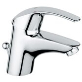 Eurosmart Single Hole Bathroom Sink Faucet with Single Handle