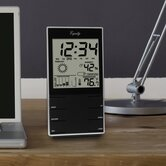 Equity By La Crosse Desktop Temperature Station with Time Alarm