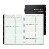 "Recy 2PPW Wirebound Planner Refills, 2PPW, Journal Size, 5-1/2""x8-1/2"", Black Cover, 2013"