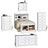 White Monterey Headboard Bedroom Collection