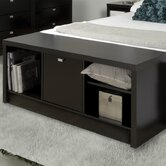Series 9 Wood Bedroom Cubbie Storage Bench