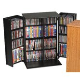Deluxe Multimedia Storage Cabinet
