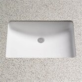 ADA Compliant Undercounter Bathroom Sink with SanaGloss Glazing