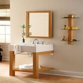 24&quot; Wall Mounted Vanity Console in Maple