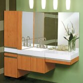 Eastridge Vanity Set with Compatible Cabinets and Drawers