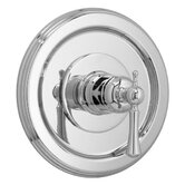 Hatteras Thermostatic Mixing Valve and Trim with Metal Lever Handle