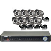 16 Channel DVR with 8 HDMI Security Camera