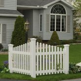 highwood&reg; Pottsville decorative corner picket fence