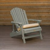 Folding and Reclining King Size Adirondack Chair