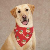 Holiday Monkey Business Dog Bandana