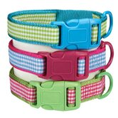 Gingham Sweeties Dog Collars