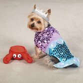 Glim Mermaid Dog Costume