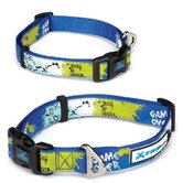 X-Treme Game Over Dog Collar