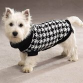 Oxford Houndstooth Dog Sweater