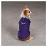 Ultra Violet Houndstooth Dog Vest