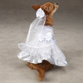 Yappily Ever After Dog Wedding Dress